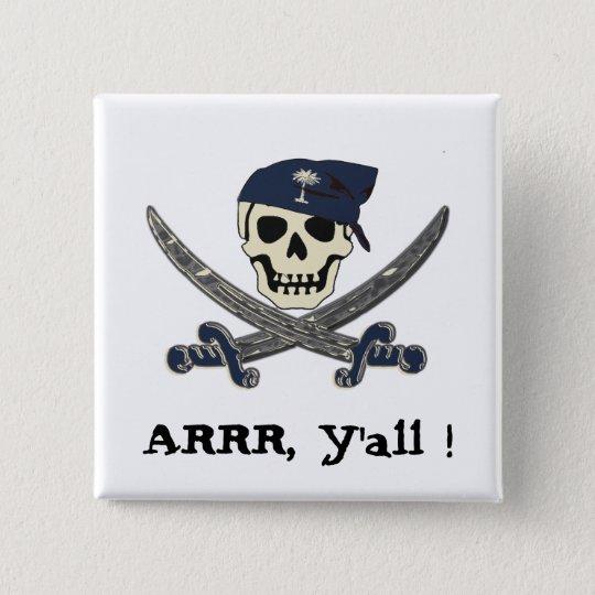 Carolina Pirate Button