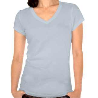 Carolina Princess Brown Crown V-Neck Shirt
