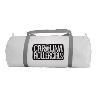 Carolina Rollergirls gym bag