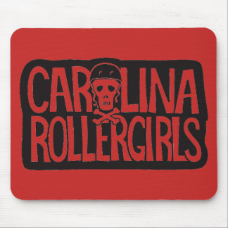 Carolina Rollergirls mouse pad