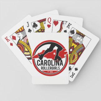 Carolina Rollergirls playing cards