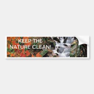 Carolina Stream 2 Bumper Sticker