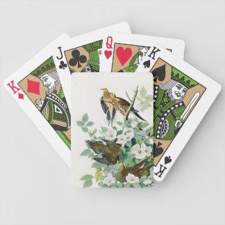 Carolina Turtle Dove, Birds of America by John Jam Bicycle Playing Cards