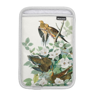 Carolina Turtle Dove, Birds of America by John Jam iPad Mini Sleeve