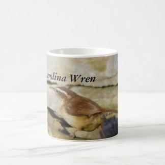 Carolina Wren Basic White Mug