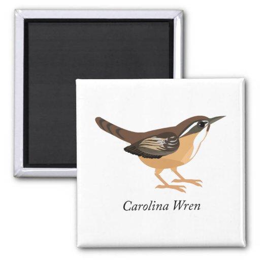 Carolina Wren Refrigerator Magnet