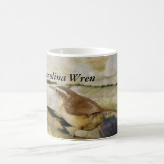 Carolina Wren Coffee Mugs