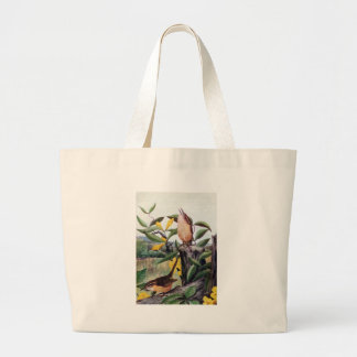 Carolina Wrens and Yellow Jessamine Jumbo Tote Bag
