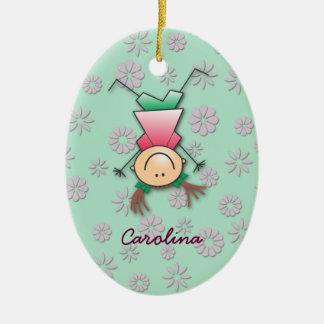 Carolina's room christmas ornament