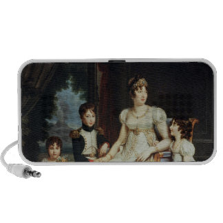 Caroline Bonaparte  and her Children Laptop Speaker