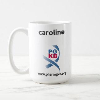 caroline coffee mug