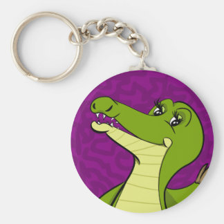 Caroline Crocodile Key Ring