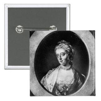 Caroline Matilda, Queen of Denmark and Norway 15 Cm Square Badge