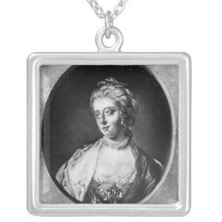 Caroline Matilda, Queen of Denmark and Norway Silver Plated Necklace