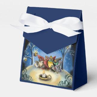 Caroling Birds Christmas Favour Box