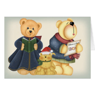 Caroling Critters Cards