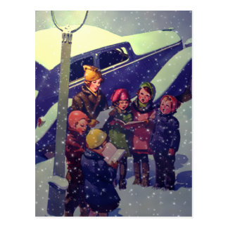 Caroling in the Snow, 1935 Post Cards
