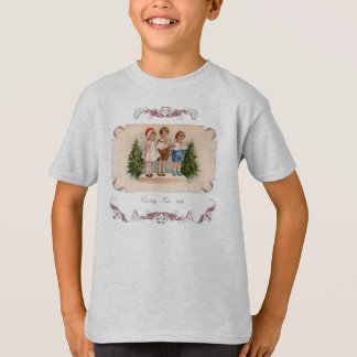 Caroling Kids Victorian T-Shirt