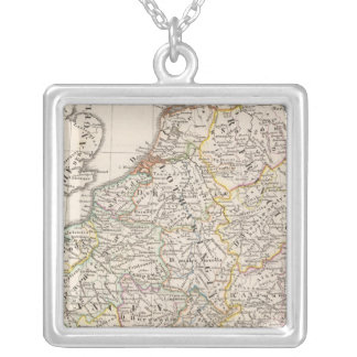 Carolingian Empire Silver Plated Necklace