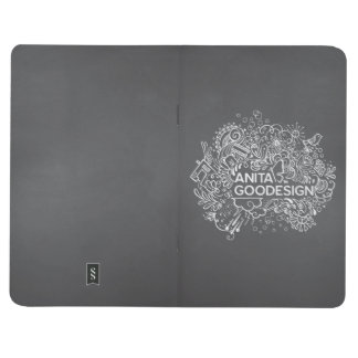 Carol's Doodles Pocket Journal (Black)