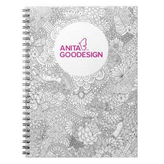 Carol's Doodles Spiral Notebook