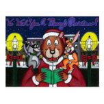 Carols in the Valley Postcard