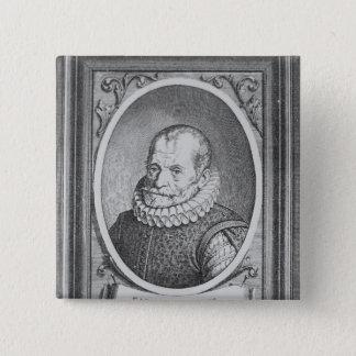 Carolus Clusius 15 Cm Square Badge