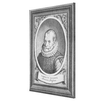 Carolus Clusius Canvas Print