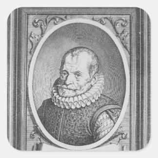 Carolus Clusius Square Sticker
