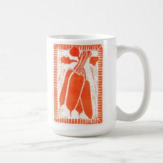 Carotte Basic White Mug