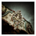 Carousel 1 Square Poster