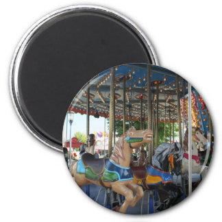 Carousel 6 Cm Round Magnet
