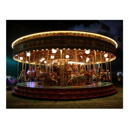 Carousel at night: The Great Dorset Steam Fair