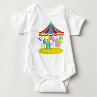 CAROUSEL BABY'S CREEPER SUIT