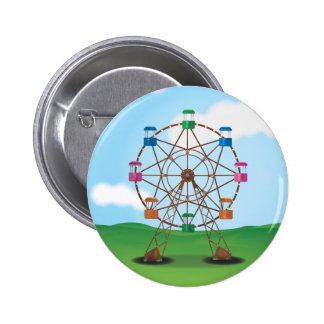 Carousel 6 Cm Round Badge