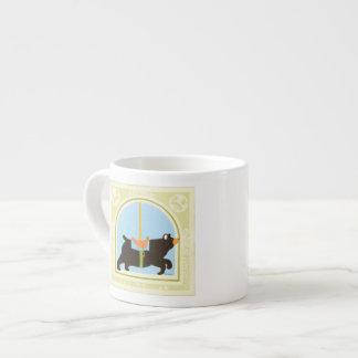 Carousel Bear by June Erica Vess Espresso Cup