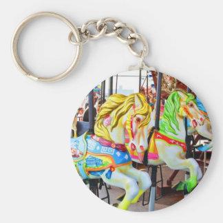 Carousel - Coney Island, NYC keychain