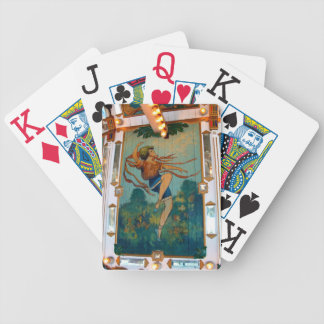 Carousel Dancing Girl Bicycle Poker Cards