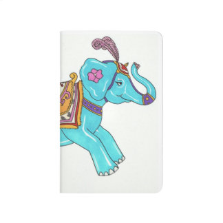 Carousel Elephant notebook
