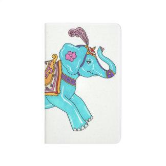 Carousel Elephant notebook Journals