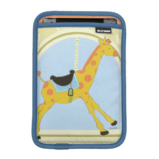 Carousel Giraffe by June Erica Vess iPad Mini Sleeve