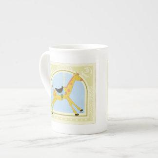 Carousel Giraffe by June Erica Vess Tea Cup