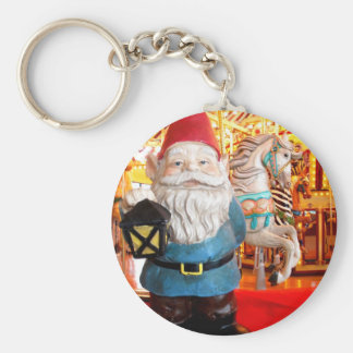Carousel Gnome Key Ring