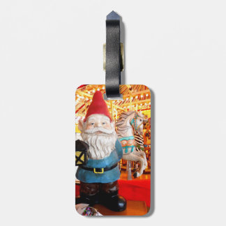 Carousel Gnome Luggage Tag