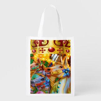 Carousel - Grocery, Gift, Favor Bag - SRF