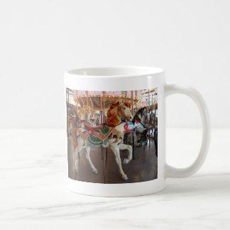 Carousel Horse,2 Basic White Mug