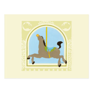Carousel Horse by June Erica Vess Postcard