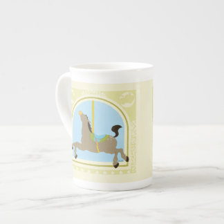 Carousel Horse by June Erica Vess Tea Cup