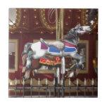 Carousel Horse Ceramic Tile