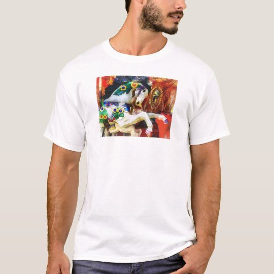 Carousel Horse Closeup T-Shirt